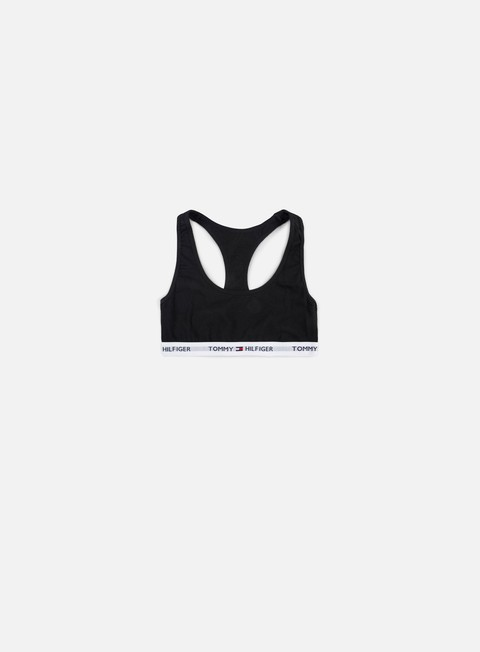 accessori tommy hilfiger underwear wmns cotton iconic bralette black