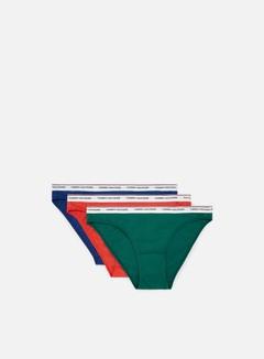 Tommy Hilfiger Underwear - WMNS Essential Bikini 3 Pack, Sodalite Blue/Bayberry