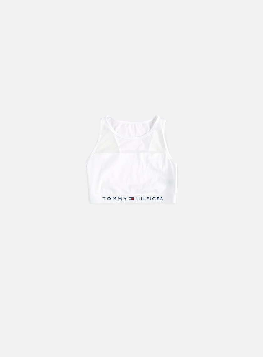 Tommy Hilfiger Underwear - WMNS Sheer Flex Cotton Bralette, White