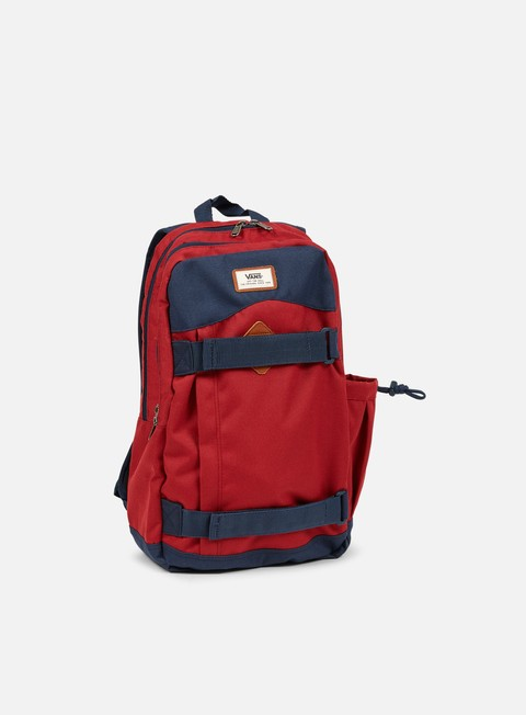accessori vans authentic ii backpack rhubarb dress blues