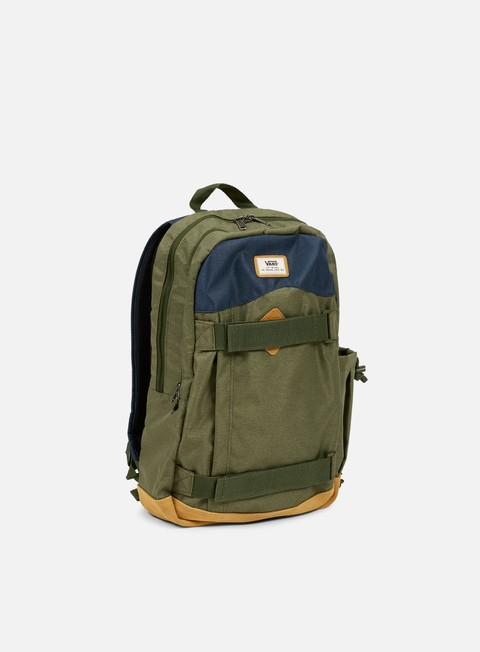 accessori vans authentic ii backpack rifle green