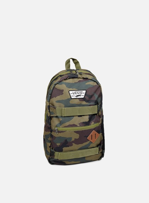 accessori vans authentic iii sk8pack classic camo