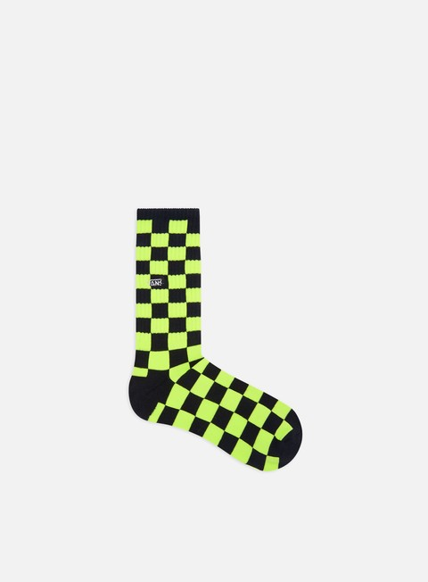 Outlet e Saldi Calze Vans Checkerboard Crew Socks