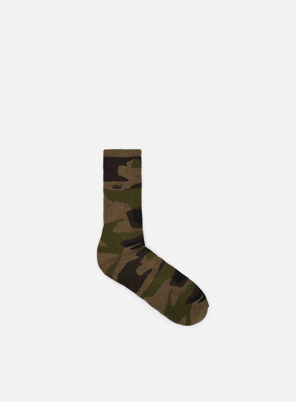 Vans - Classic Camo Crew Socks, Classic Camo