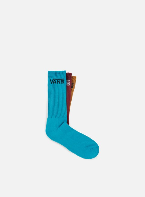 accessori vans classic crew 3 socks tile blue