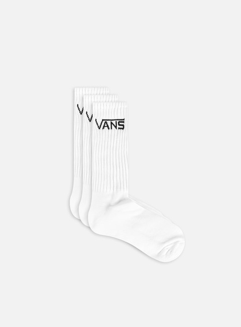accessori vans classic crew 3 socks white