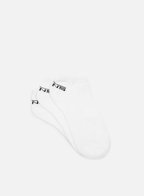 accessori vans classic low 3 socks white