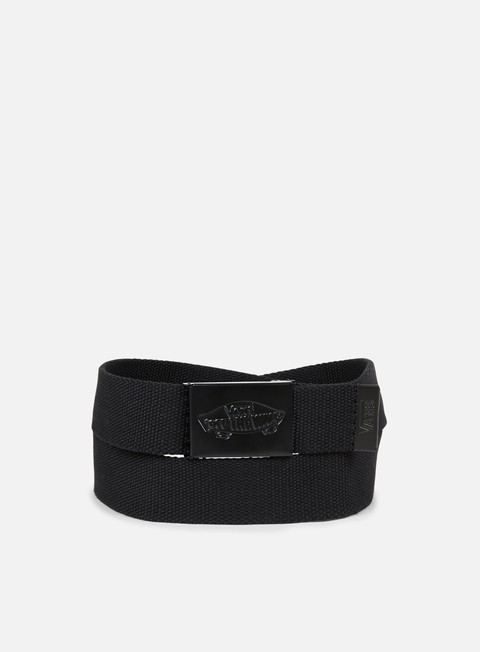 accessori vans conductor ii web belt black