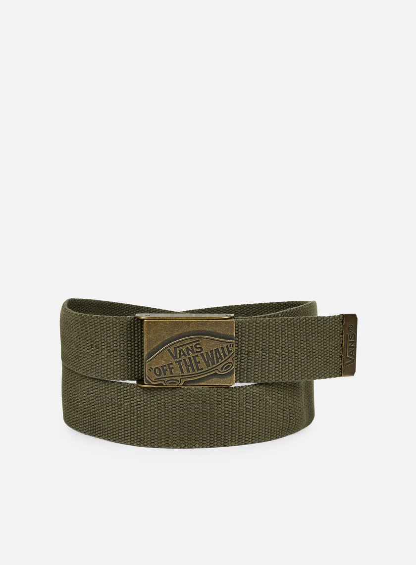 Vans - Conductor Web Belt, Grape Leaf