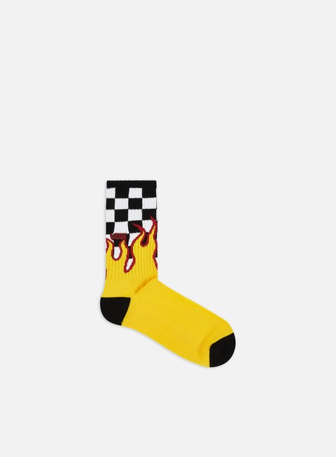 Sale Outlet Socks Vans Flame Check Crew Socks