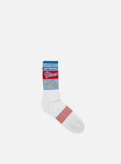 Vans - Long Neck Crew Socks, Grey 1