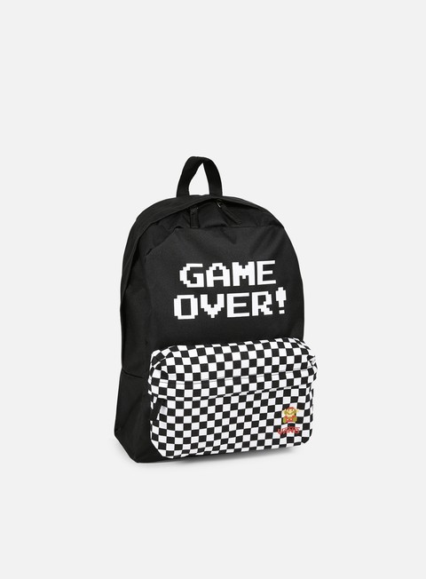 accessori vans nintendo backpack game over