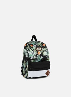Vans - Old Skool II Backpack, Black/Black/Decay