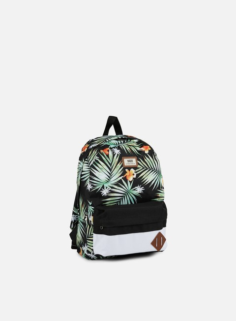 accessori vans old skool ii backpack black black decay