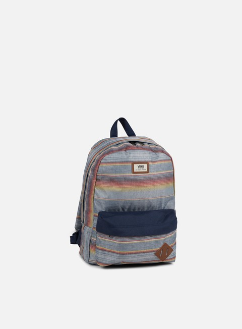 accessori vans old skool ii backpack blue mirage