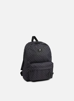 Vans - Old Skool II Backpack, Checkerboard Black/Charcoal