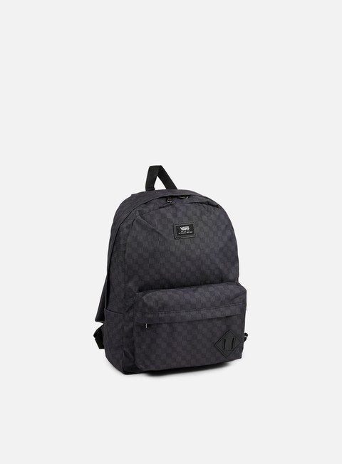 accessori vans old skool ii backpack checkerboard black charcoal