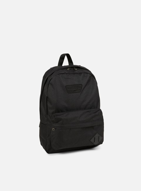 accessori vans old skool ii backpack concrete heathe black