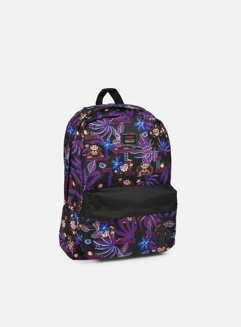 accessori vans old skool ii backpack donkey kong black