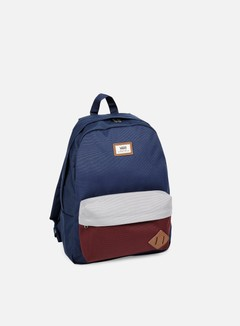 Vans - Old Skool II Backpack, Port Royale Colorblock 1