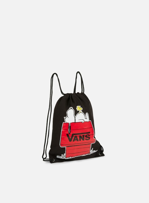 accessori vans peanuts benched novelty bag black