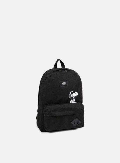 accessori vans peanuts old skool ii backpack black