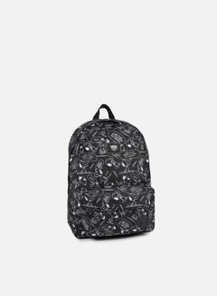 Vans - Peanuts Old Skool II Backpack, Snoopy Black