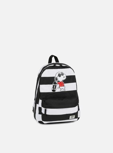 accessori vans peanuts realm backpack joe cool