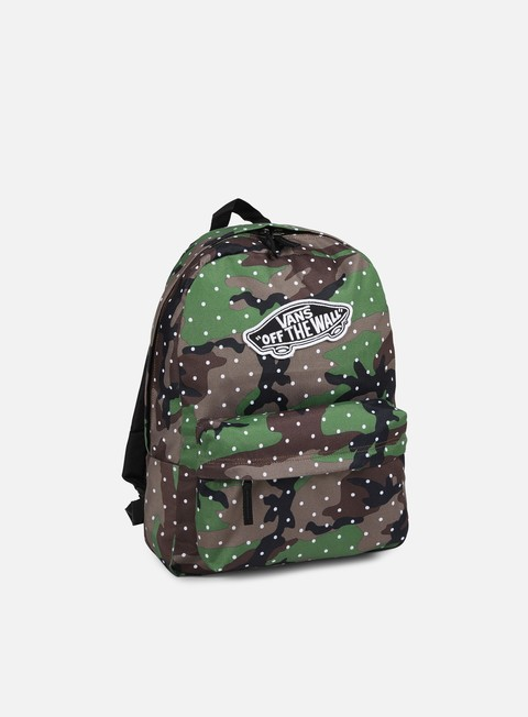 accessori vans realm backpack camo dot