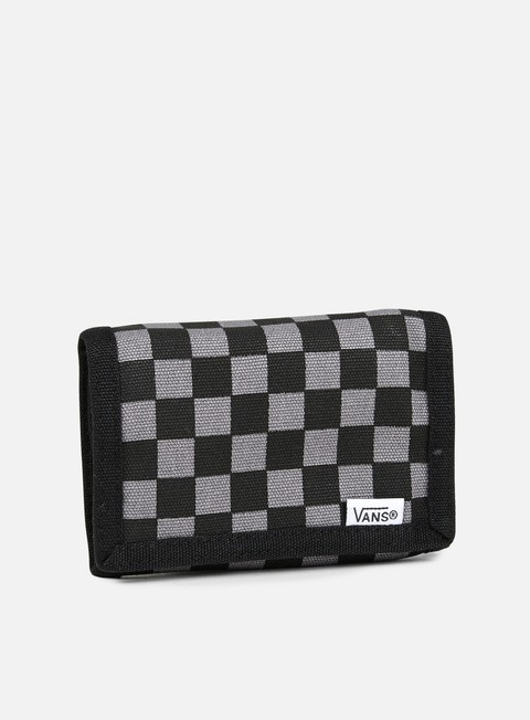 accessori vans slipped wallet black gunmetal