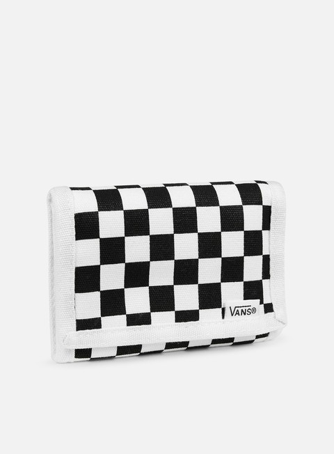accessori vans slipped wallet black white