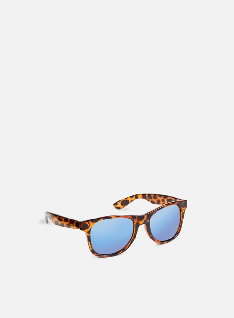accessori vans spicoli 4 shades translucent honeytortoise royal blue mirror