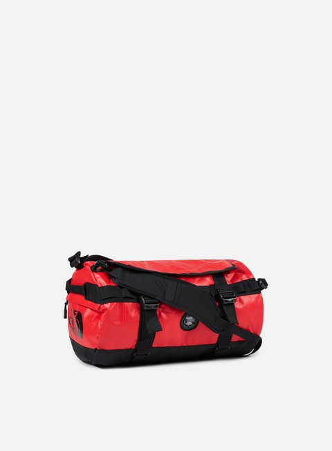 accessori vans the north face base camp duffel small tnf red