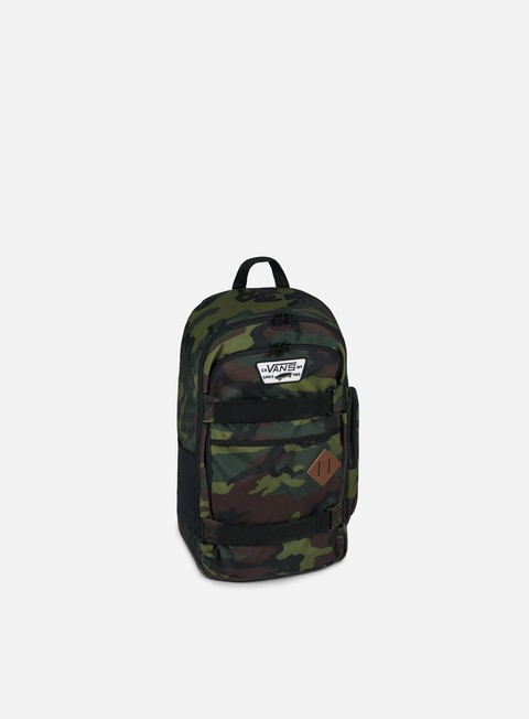 accessori vans transient iii backpack classic camo