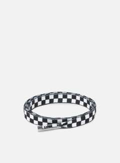 Vans - Vans 36' Laces, Black/White Checkerboard
