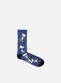Vans - Vans x Peanuts Crew Socks, True Navy 1