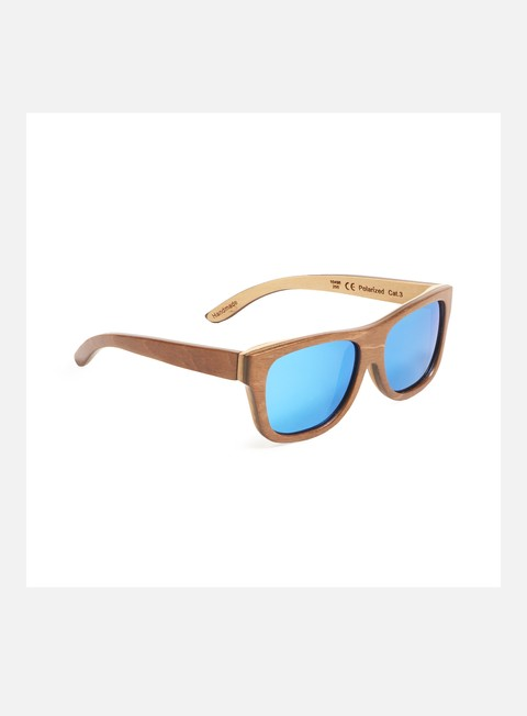 accessori wood fellas tanjung brown natural blue mirror