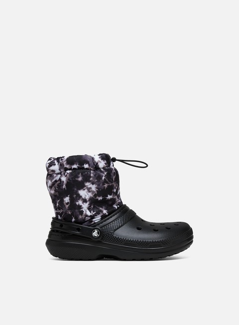 Crocs WMNS Classic Lined Neo Puff Tie Dye Boot