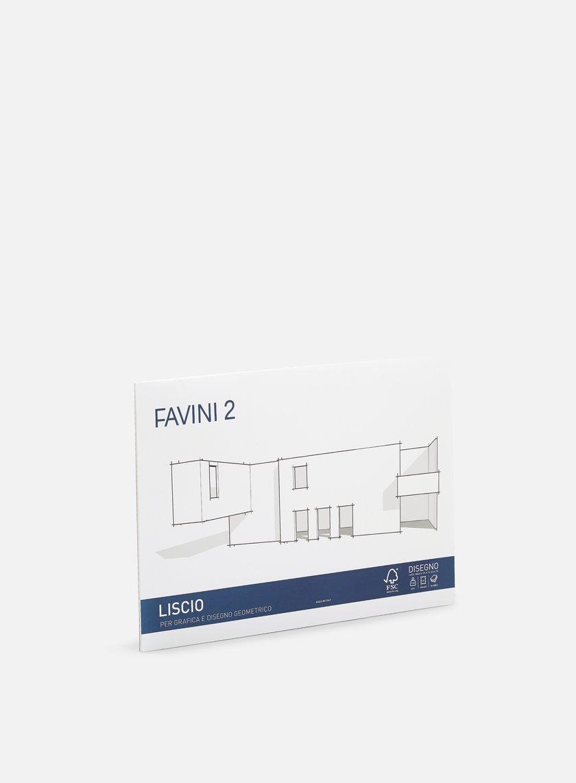 Favini - 2 Blocco 33x48 110 gr