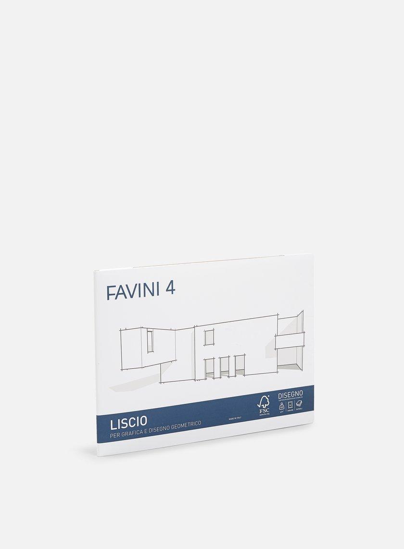 Favini - 4 Cartangoli 24x33 220 gr