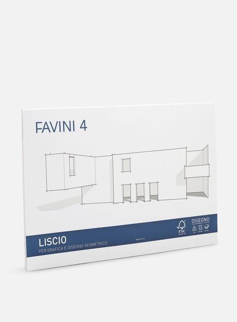 Fine Arts Accessories Favini 4 Cartangoli 33x48 220 gr