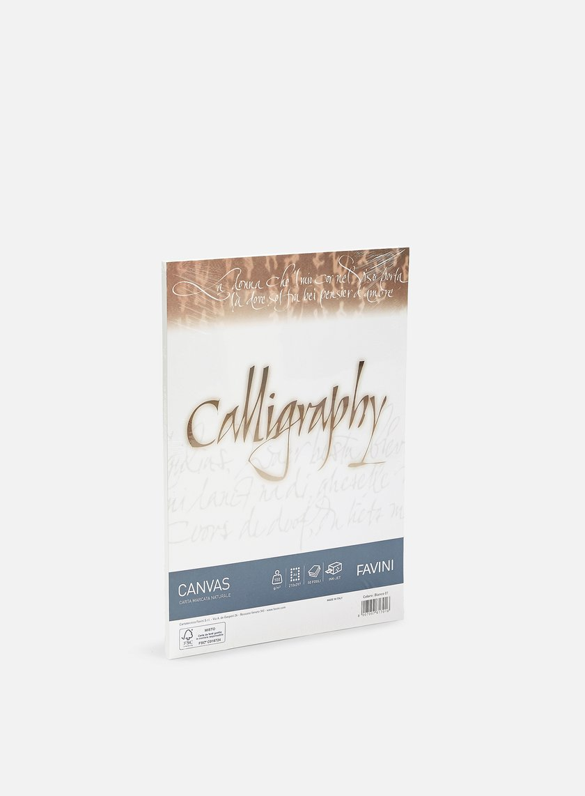Favini - Canvas Calligraphy A4 100 gr