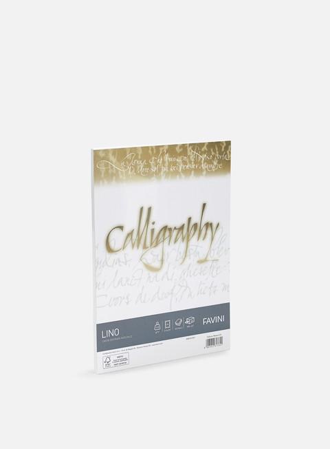 Carta e Blocchi per Calligrafia Favini Lino Calligraphy A4 120 gr