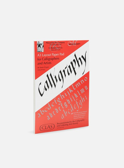 calligrafia roberson calligraphy layout pad a3