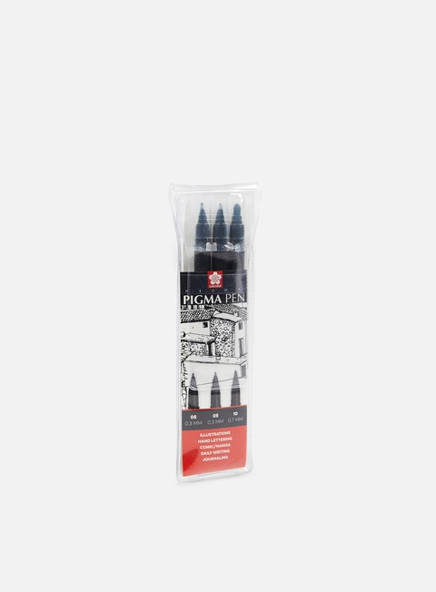 Marker per Sketch & Design Sakura Pigma Pen Set 3 pz