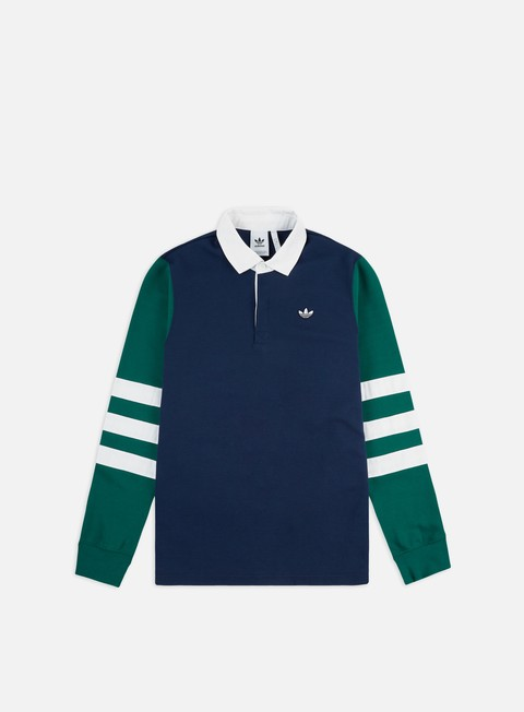 Sale Outlet Long Sleeve Shirts Adidas Originals Rugby Shirt