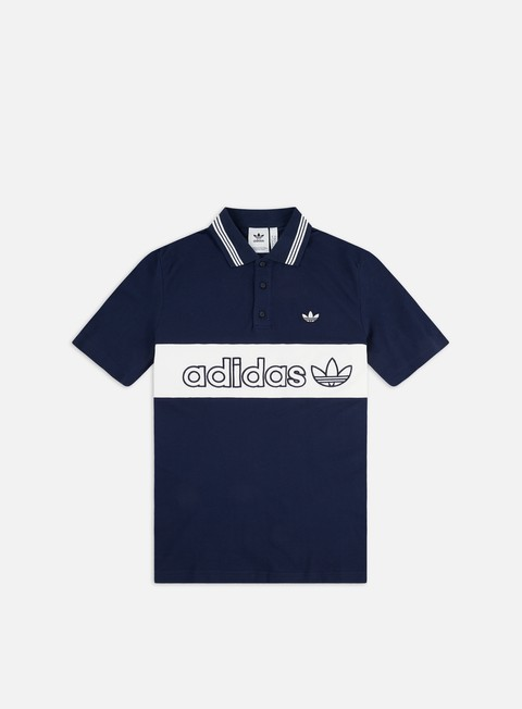 Sale Outlet Polo Adidas Originals Stripe Polo Shirt