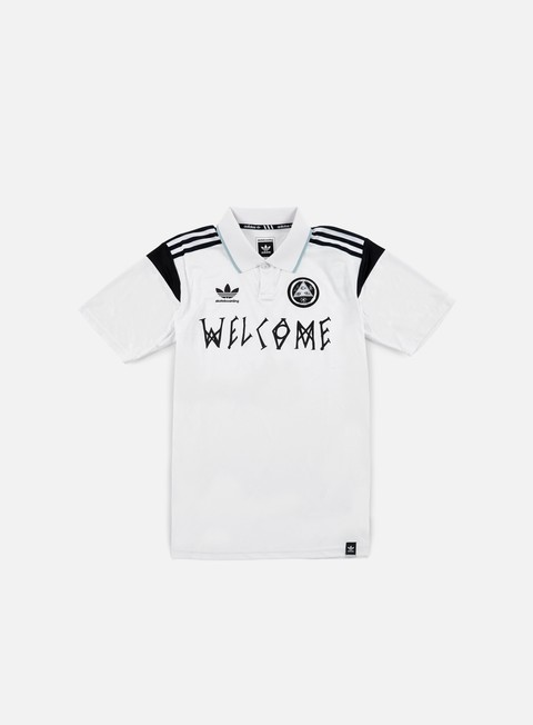 camicie adidas originals welcome jersey white