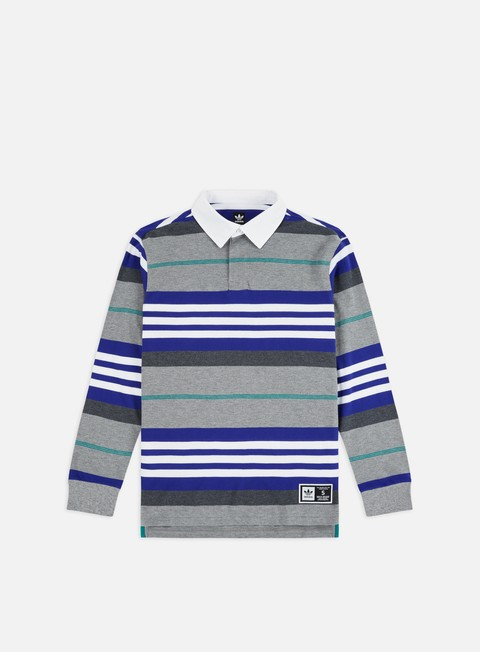 Long Sleeve Shirts Adidas Skateboarding Cleland LS Polo Shirt