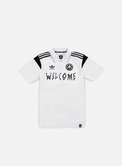 Adidas Skateboarding - Welcome Jersey, White 1